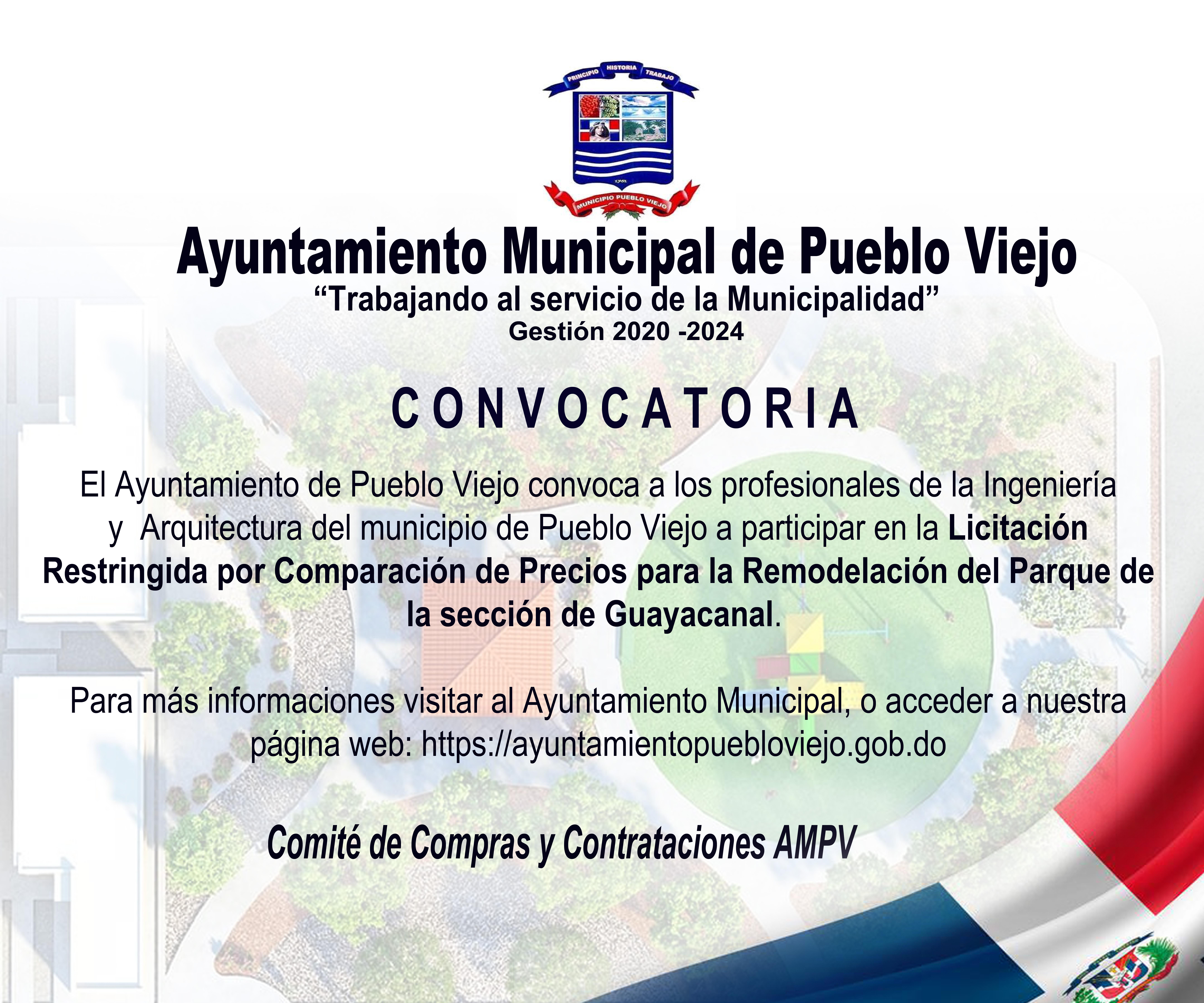 CONVOCATORIA A LICITACION RESTRINGIDA POR COMPARACION DE PRECIOS